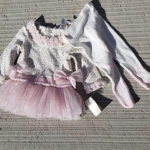 NWT Miniclasix dress with tights